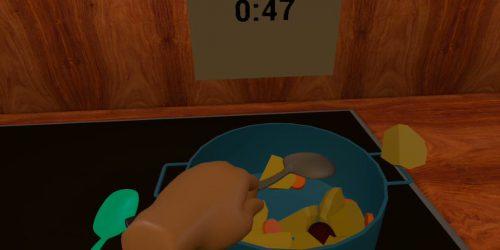 Pot-stirring
